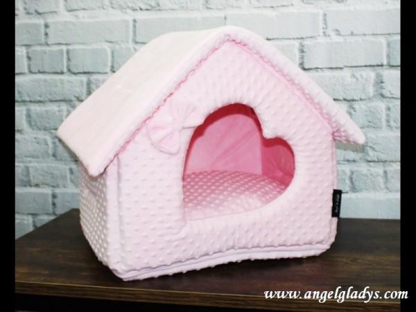 """Angel & Gladys Kuschelhaus """"Dream in pink """""""