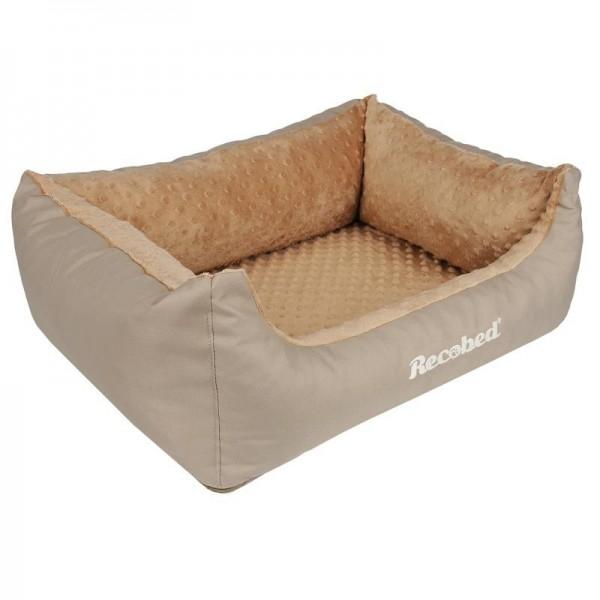 Recobed - Hundebett beige 65 x 50 cm