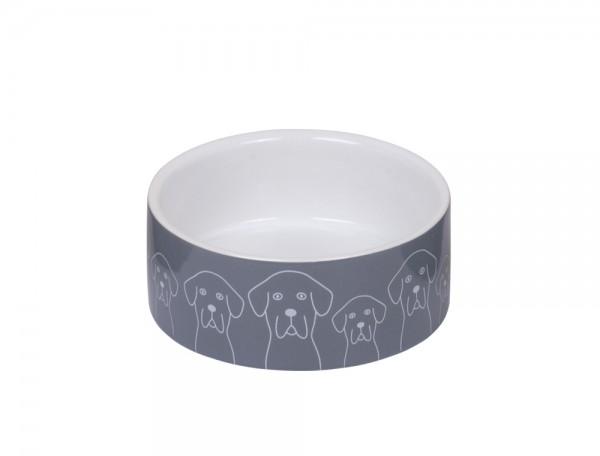 "Keramik Napf ""Dogs"""