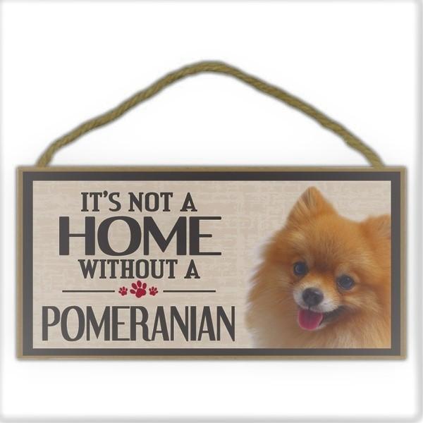 Pomeranian- Schild
