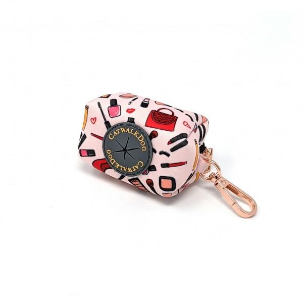 Kleine Tasche für Kottbeutel rosa incl.1 Rolle
