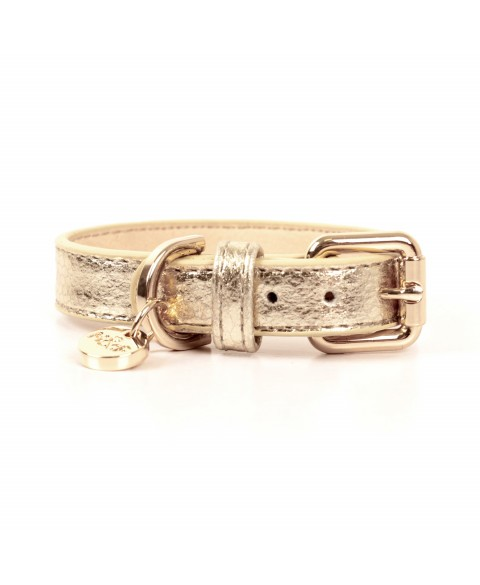Stardust Halsband Python Gold 2 cm/35 cm