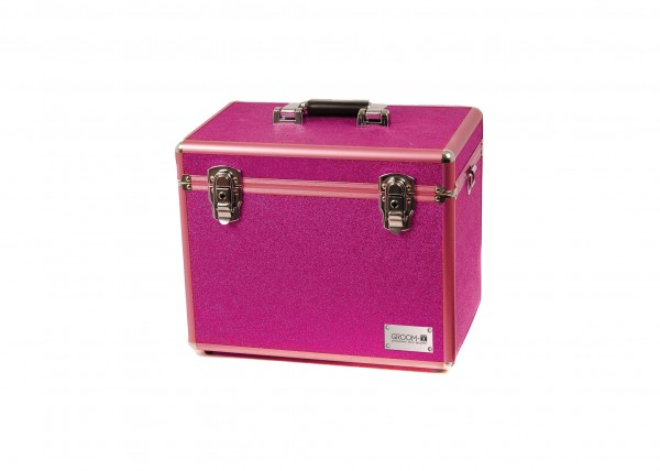 Groom-X Grooming Case Portable Glitter Pink