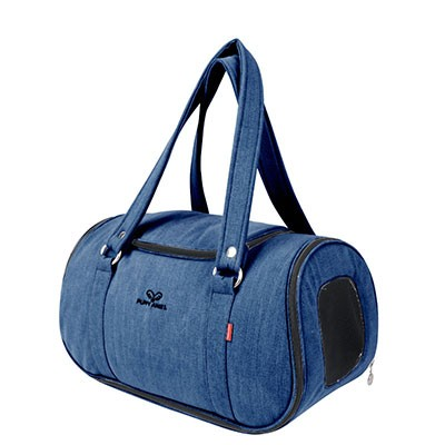 Puppy Angel Denim Pet Carier blau