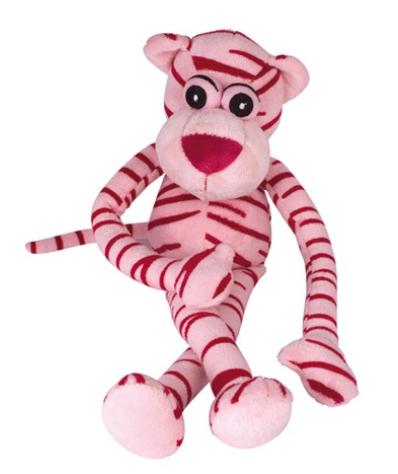 """Chadog® Plüsch Hundespielzeug """"Pink Panther"""" mit Quietscher"""