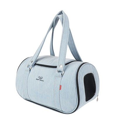 Puppy Angel Denim Pet Carier hell blau