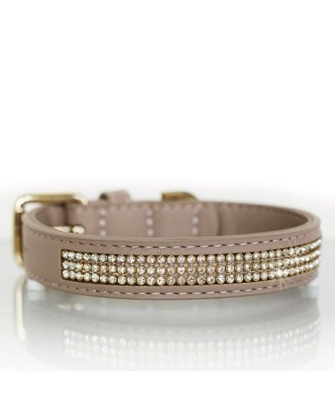 Milk & Pepper Halsband Boreal Taupe