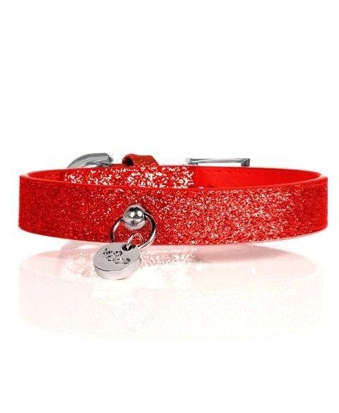 Stardust Halsband Rot