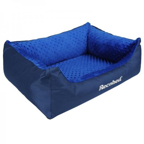 Recobed - Hundebett blau 85 x 65 cm