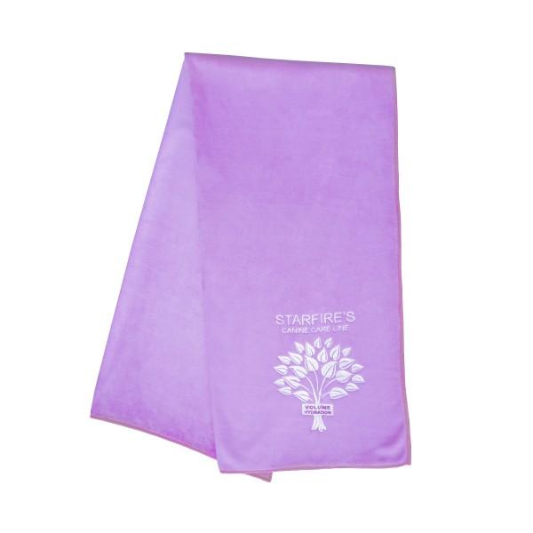 Starfire Microfaser Handtuch lila