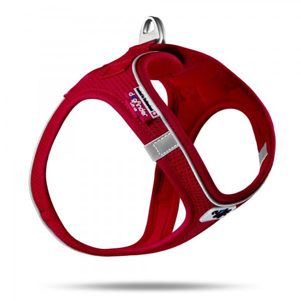 Curli Magnetic Vest Geschirr rot