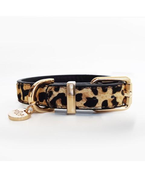 Milky & Pepper Lederhalsband Spirit Leopard in 4 Größen