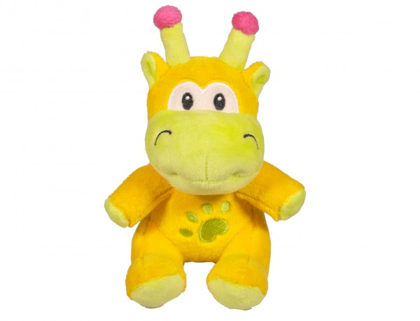 """Hundespielzeug aus Plüsch """" Giraffe Limona """" 16 cm"""