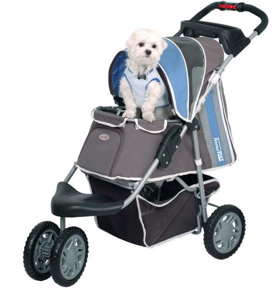 "InnoPet® Hundebuggy ""First Class"" - IPS-09/B - blau"
