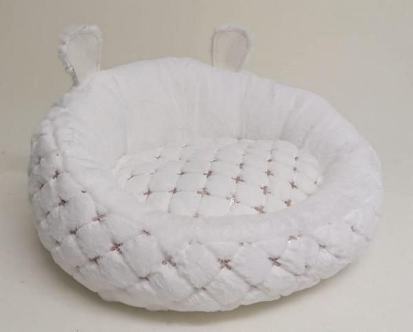 Eh' Gia Hundebett /Donut in white
