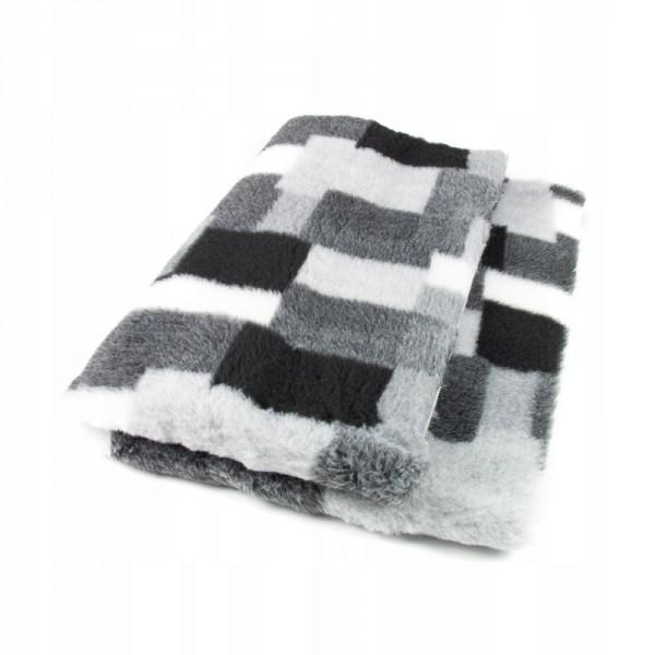 Blovi DryBed VetBed A+ Patchwork grau-weiß rutschfest