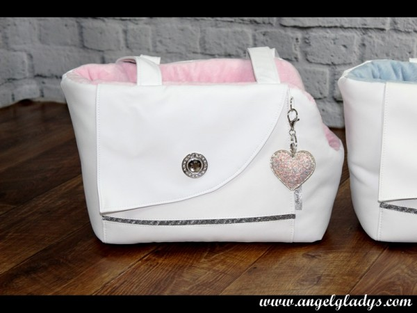 Angel & Gladys Tragetasche Mademoiselle Caprice rosa