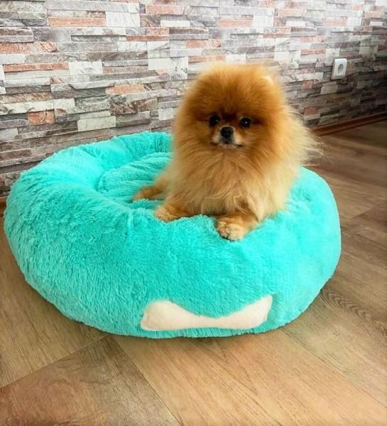 Blovi Bed Plush Donut Mint 65 cm