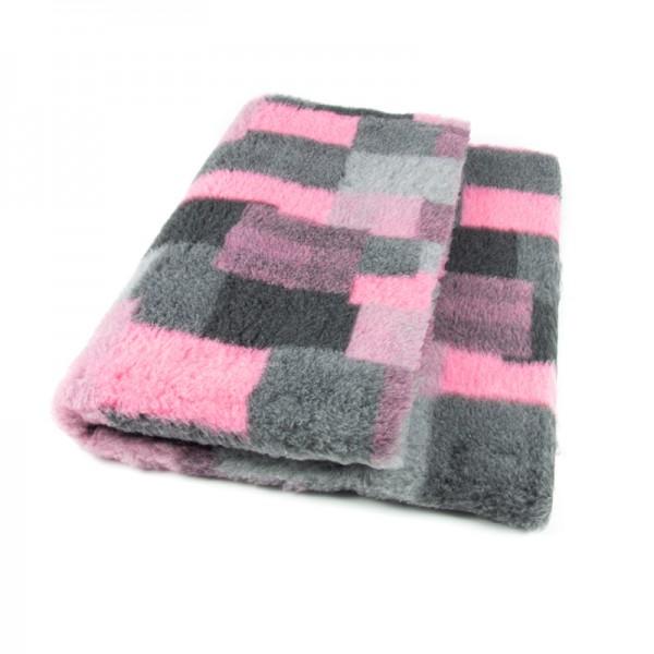 Blovi DryBed VetBed A+ patchwork rosa rutschfest
