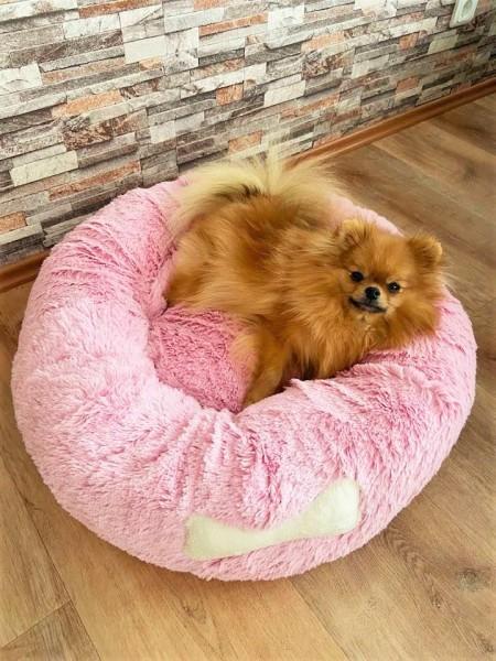 Blovi Bed Plush Donut Pink 65 cm