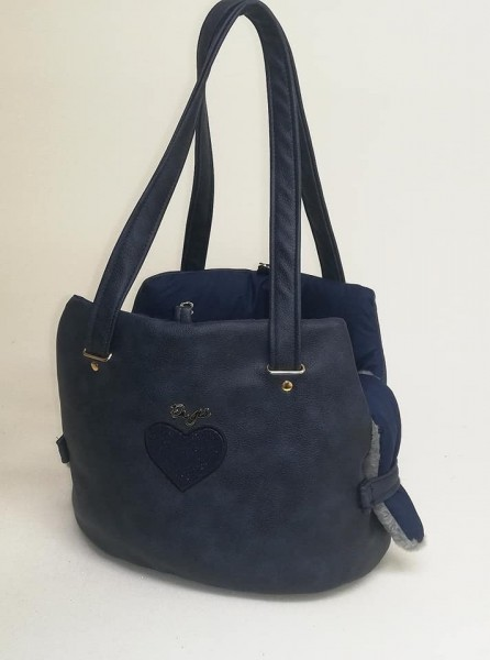 Eh' Gia FAir Bag in dunkelblau