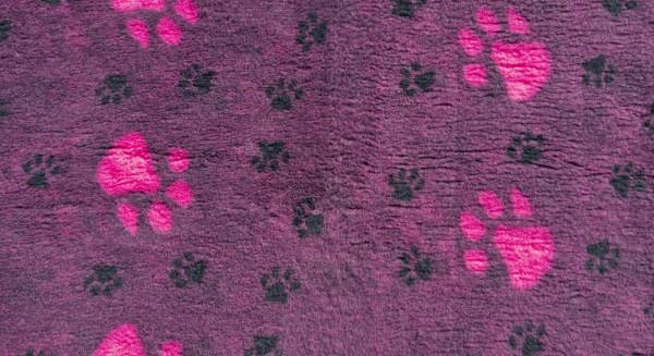Blovi DryBed VetBed A+ Fiolet-pink rutschfest