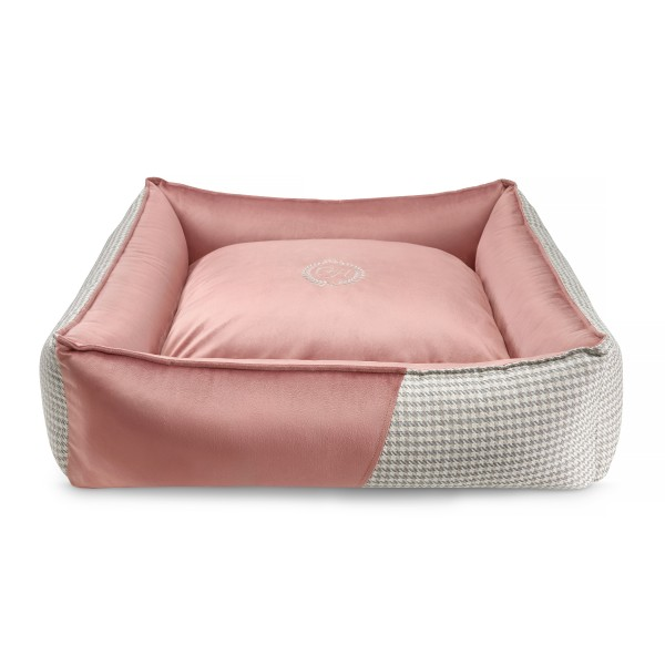 Luxury Hundebett Porto Pink