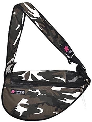 Fundle Pocket Pet Sling Carrier Bag Khaki bis 8 kg