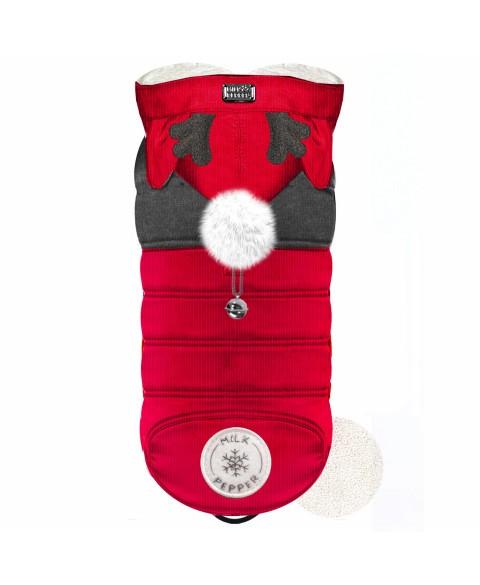 HANKI Red Puff Jacket mit Öhrchen
