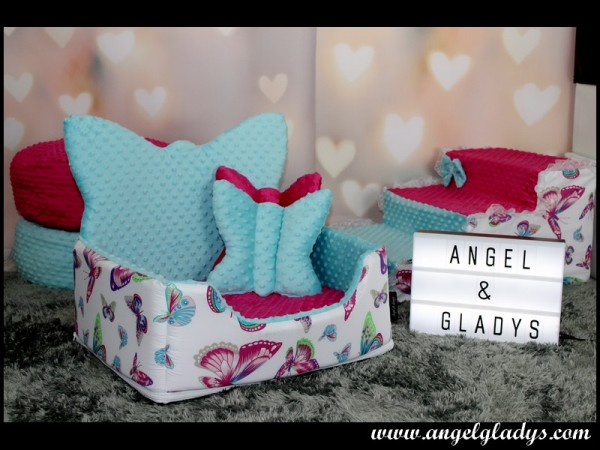 "Angel & Gladys Kuschelbett "" Butterfly """