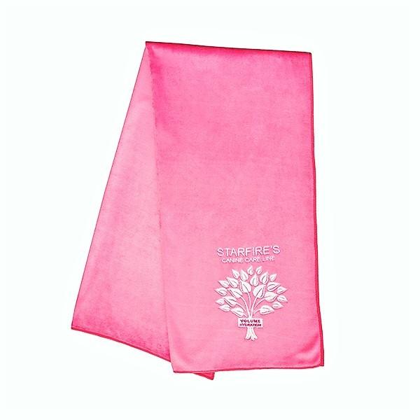 Starfire Microfaser Handtuch pink