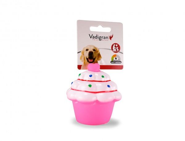 Vinyl Cup Cake Pink