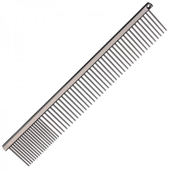 Groom Professional Metallkamm aus Edelstahl mit Titanbeschichtung 21 cm