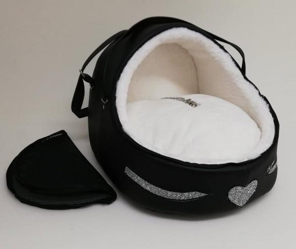 Eh Gia' Igloo/Autositz Black & White