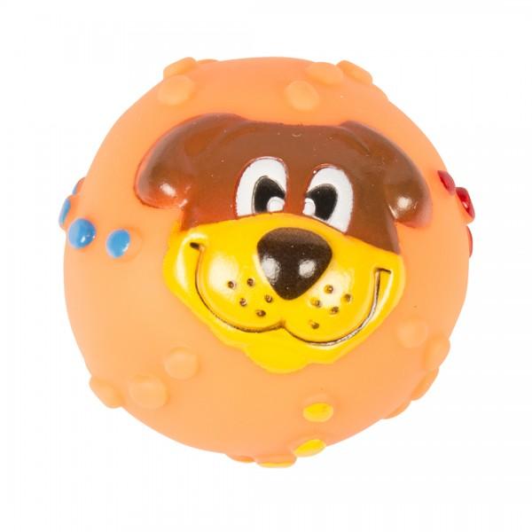 Vinylball Hund ø 7,3cm