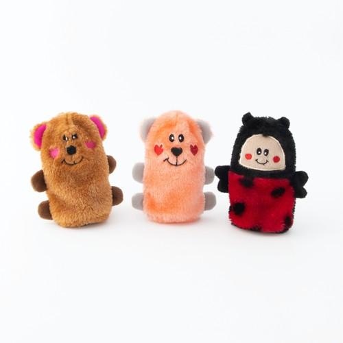 ZippyPaws Squeakie Buddies - 3-Pack