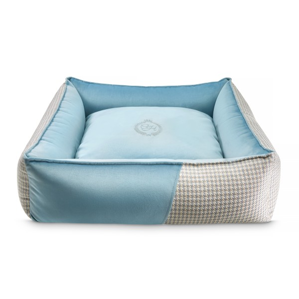Luxury Hundebett Porto Blue