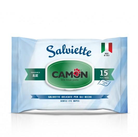 Camon® Feuchttücher Augenreinigungstücher mit Aloe Vera Duft