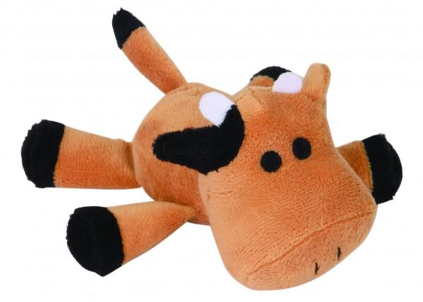 """Hundespielzeug aus Plüsch """" Squeaker Hund """" 15 cm"""
