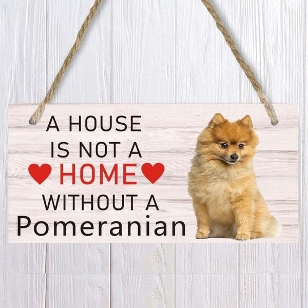 Pomeranian - Schild