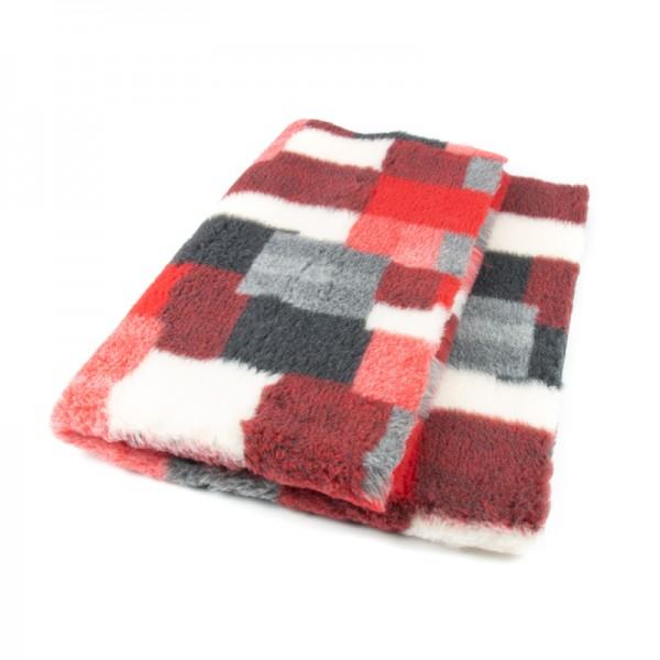 Blovi DryBed VetBed A+ patchwork rot rutschfest