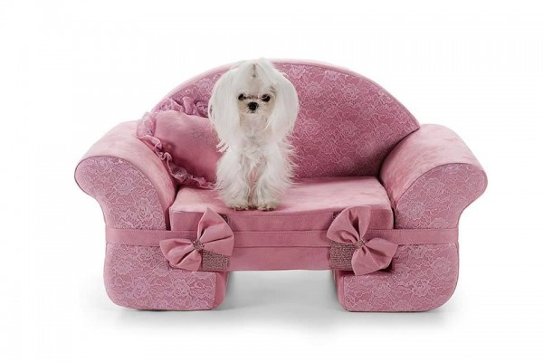 "Eh Gia' Hundesofa "" Dream in Pink """