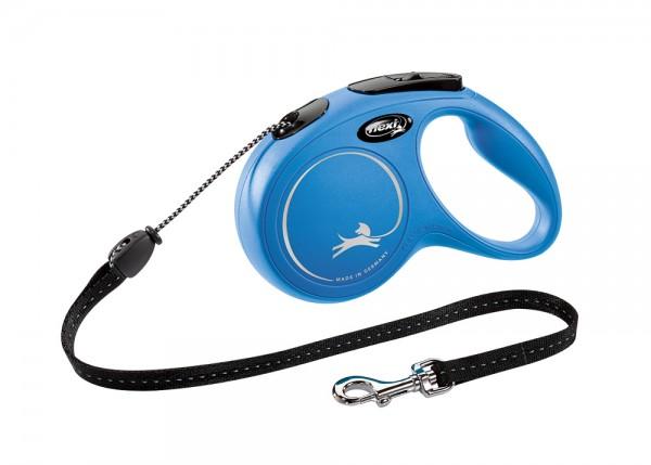 flexi NEW CLASSIC XS Seil blau M ( 5 m )