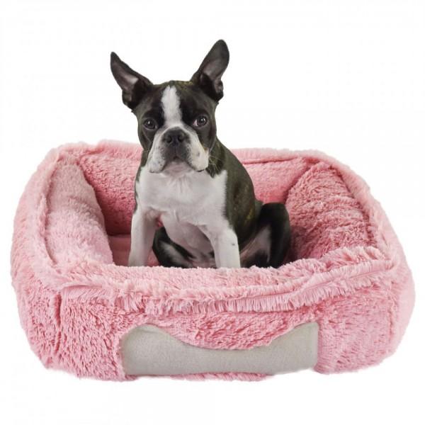 Blovi Bed Fluffy Bone Pink