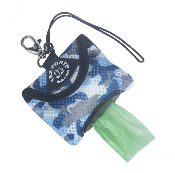 Tre Ponti Hygienic Bag Camouflage blau