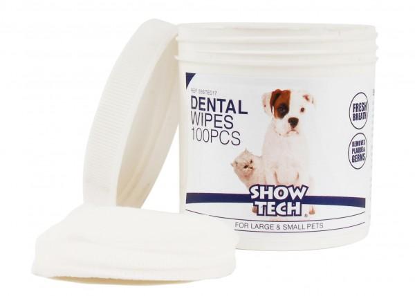 Show Tech Dental Wipes 100 zur täglichen Zahnpflege