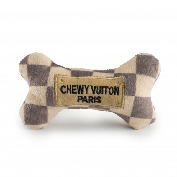 Checker Chewy Vuiton Bone Toys