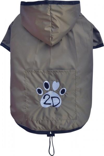 Doggydolly Regenmantel, beige 28-30 cm