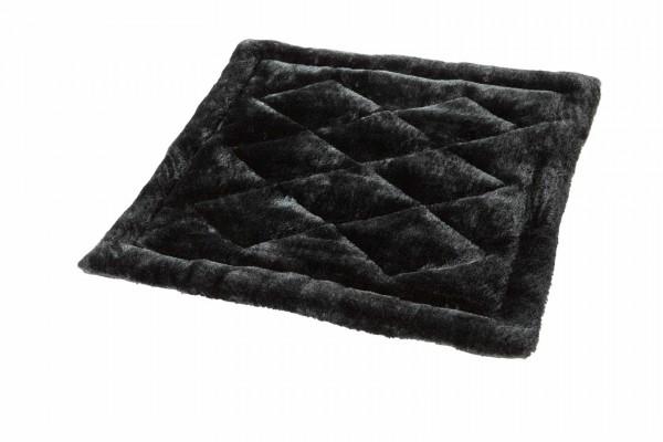 Soft Bed Deluxe Matte, 57 x 55 x 2.5 cm, beige schwarz