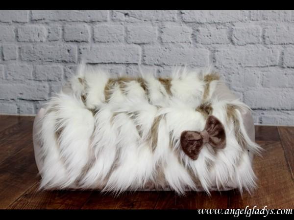 Angel & Gladys Schlafbettchen mit Kunstfell